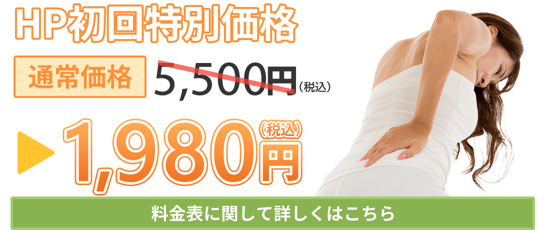 HP初回特別料金1980円(税込)